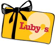 Luby S Gift Card - welcome to luby s