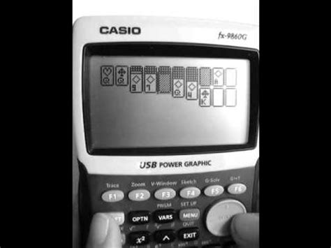 tutorial casio fx 9750gii calculator games for casio fx 9750gii how to make do