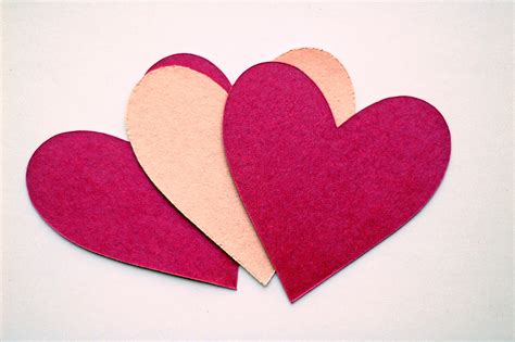 Paper Hearts - valentine s day aromatherapy list essential oils for