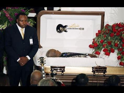 B.B King funeral.   YouTube