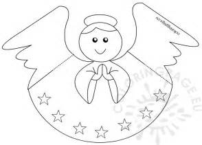 Spring Flowers Coloring Pages Printable - paper angel template coloring page