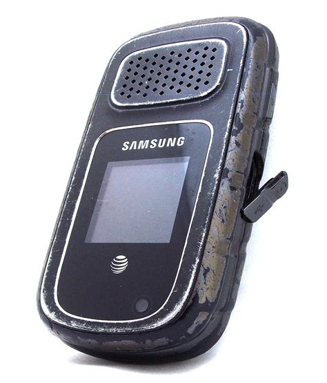 att rugged flip phone samsung rugby  property room