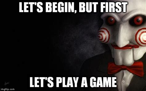 Playing Games Meme - jigsaw imgflip