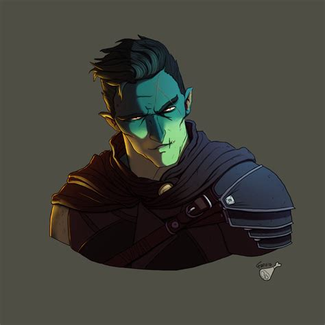 fjord critical role artstation critical role fan art fjord eliott reni 201