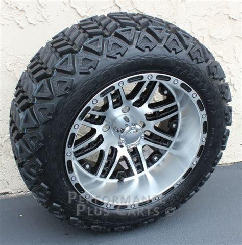 14 golf cart wheels megastar 14x8 machined lifted golf cart wheels with 23 quot a
