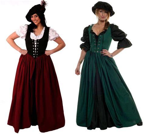 Airish Dress renaissance costume gown scottish celtic