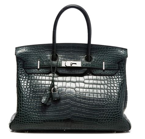 Hermes Birkin Alligator Limited Edition hermes black limited edition crocodile birkin 35cm hermes bags price