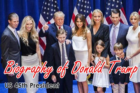 donald trump brief biography short biography of donald trump us 45th president