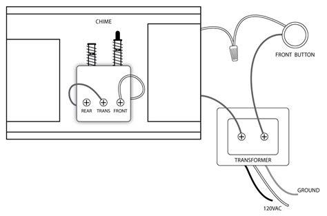 doorbell wiring diagram transformer doorbell wiring diagrams for the home diagram