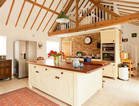 Modern Barn Kitchen by A Modern Barn Conversion Real Homes Kitchens