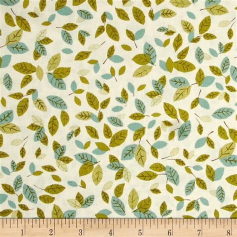 nature pattern fabric kaufman forest fellow leaves nature discount designer