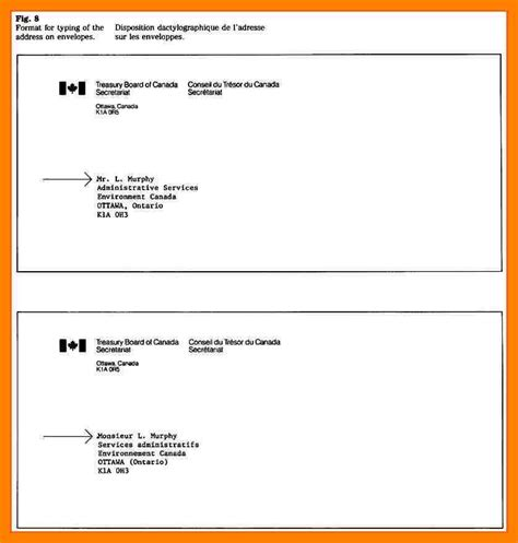 how address an envelope canada write on peg 10 fitted with 6
