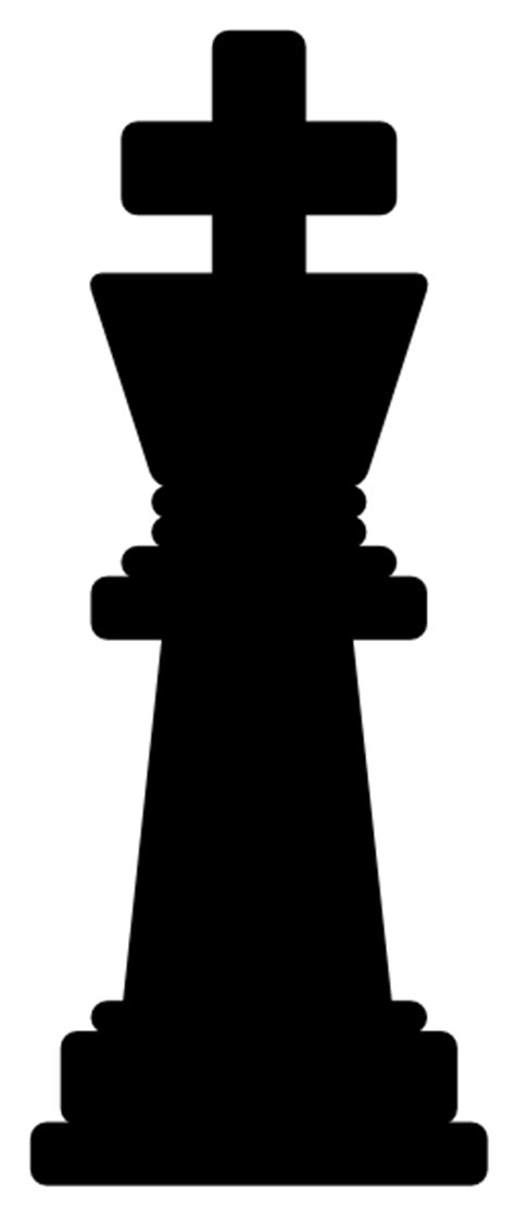 King Chess Clipart chess king clip at clker vector clip
