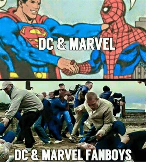 Marvel Vs Dc Comes To In Epic Fan Trailer Nerdist 25 Epic Marvel Vs Dc Memes That Might Destroy The Feelings Of Fans