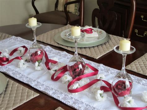 wine glass centerpiece for tables