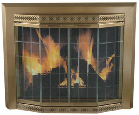 Pleasant Hearth Fireplace Doors by Pleasant Hearth Glass Fireplace Door Grandior Bay Antique