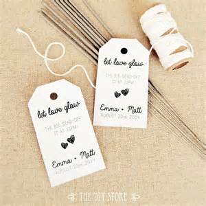 Wedding Favor Tag Template by Favor Tag Template Medium Two Small Hearts Wedding