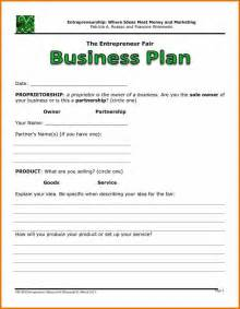 Business Plan Free Templates Basic Business Plan