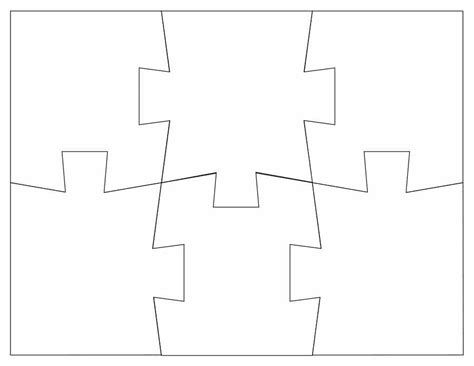 puzzle template 19 printable puzzle templates template lab