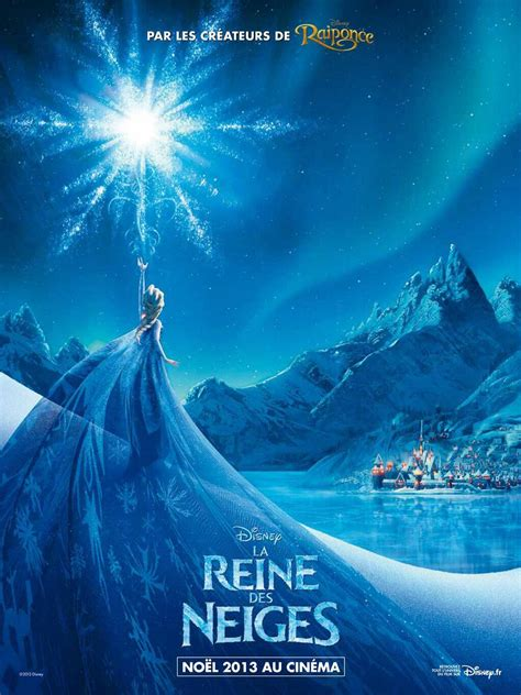 frozen film poster new french quot frozen quot poster released featuring elsa