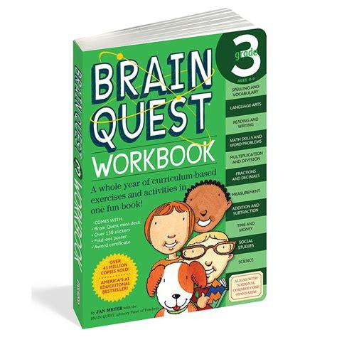 Brain Quest Workbook Grade 5 brain quest workbook grade 3