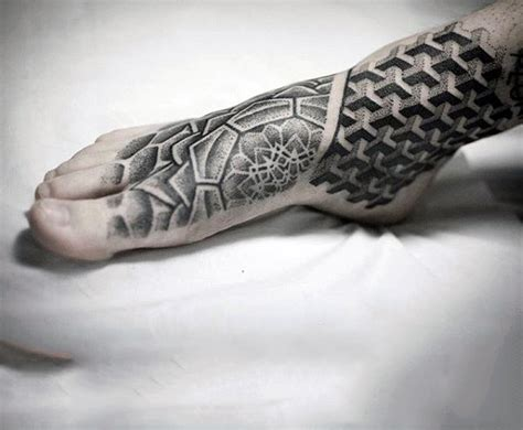 90 foot tattoos for men step into manly design ideas
