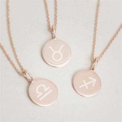 Freya Necklace freya sterling silver birth sign pendant necklace by bloom boutique notonthehighstreet