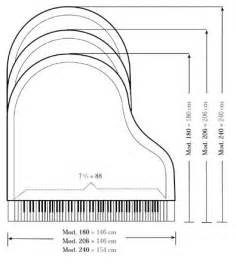 gallery for gt grand piano dimensions