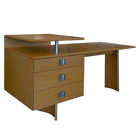 Birch Computer Desk Birch S Series Architectural Desk By Eliel Saarinen Tftm
