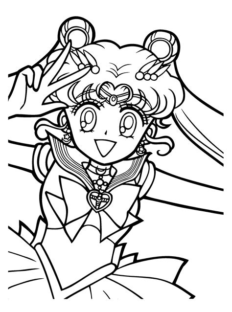 Coloring Pages Sailor Moon: Animated Images, Gifs