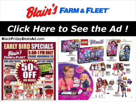 blain s farm fleet 2018 black friday deals ad black