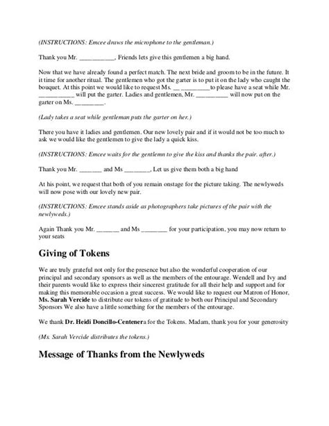 Wedding Vows Script by 27 Best Unionification Ceremony Scripts Images On
