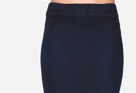 slip on pencil skirt