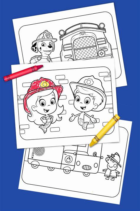 printable heroes fire giant fire truck heroes printable coloring pack nickelodeon