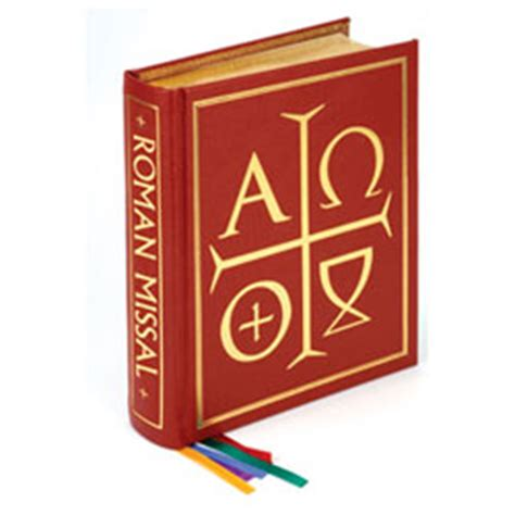 excerpts from the missal books sacramentary churchsupplies