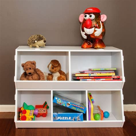 Bookcases Perth Wa Kids Stackable Wooden Toy Storage Box Shelves 2pc Buy