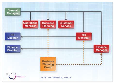 matrix structure diagram sle 6 matrix organization chart it organizational