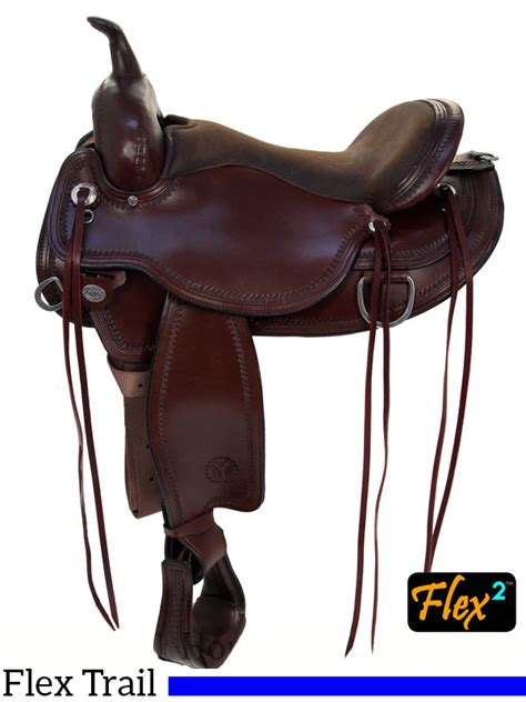 the wire horse western saddles circle y tucker tex 15 quot to 18 quot circle y omaha flex2 trail saddle 1554