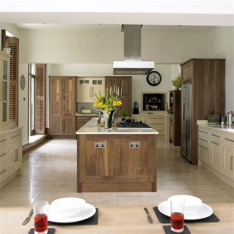 wood kitchen ideas two tone kitchens kitchen sourcebook