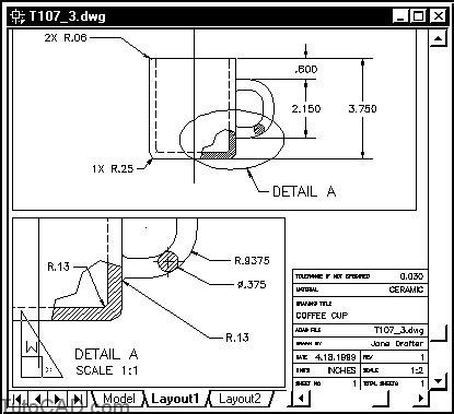 autocad layout exit viewport how to use linetypes drawing scale autocad tutorial 38