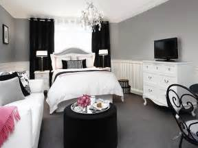 white and black rooms optimize your small bedroom design hgtv
