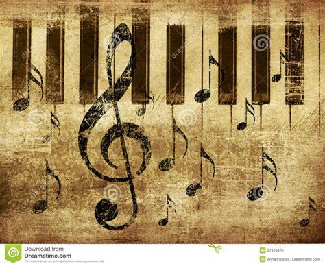 imagenes musicales retro fondo musical del piano del vintage foto de archivo