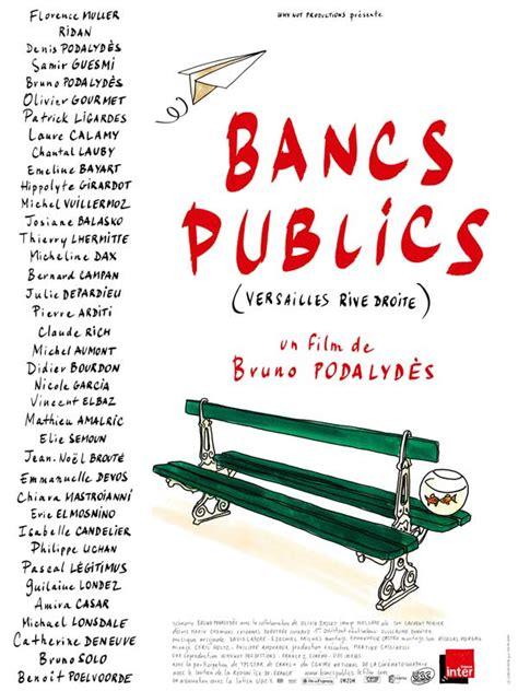 Brassens Banc by Bancs Publics Versailles Rive Droite 2009 Allocin 233