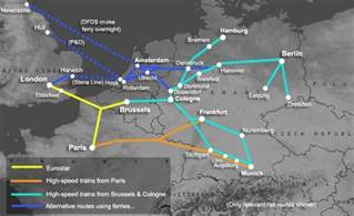 Germany Train Map by How To Travel By Train From London To Germany From 59