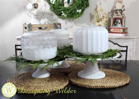 simple vintage christmas centerpiece designing wilder