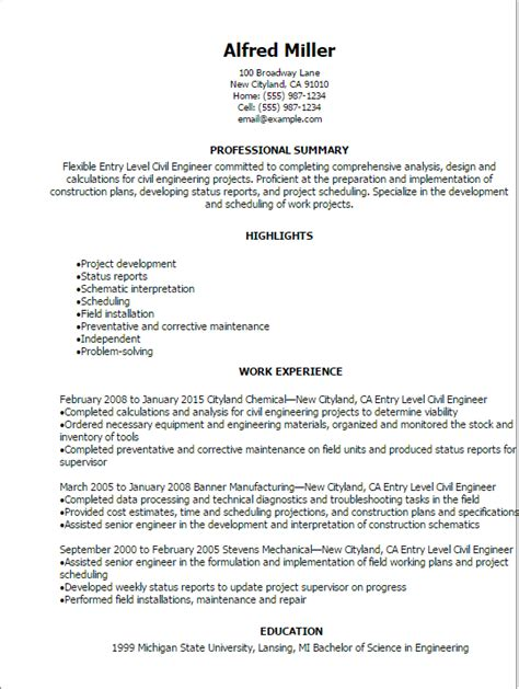 entry level civil engineer cover letter sample covers correspondence