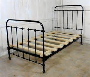 Victorian single iron bed antiques atlas
