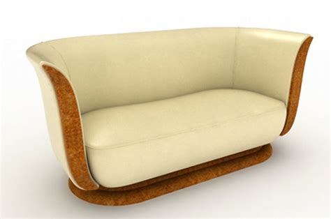 Couch And Loveseat Tulip Art Deco English Sofas
