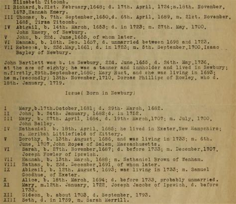 Maine Birth Records Free Bartlett Family Genealogy Access Genealogy
