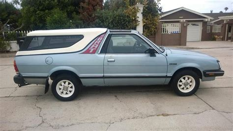 how to fix cars 1986 subaru brat auto manual hemmings find of the day 1986 subaru brat gl hemmings daily